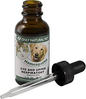Only Natural Pet Eye & Upper Respiratory Treatment Homeopathic Supplement Remedy