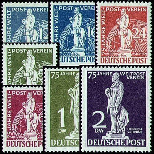 Goldhahn Berlin Nr. 35-41 postfrisch Fotoattest Stephan Briefmarken für Sammler