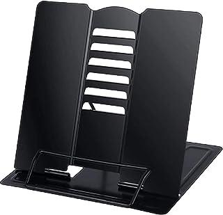 GUOSHUFANG Lässtativ, bokstöd bokstativ för barn hopfällbar metall tablett bokställ för kök arbetsrum kontor skola matlagn...