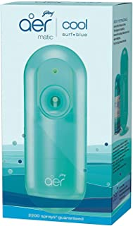 Godrej aer matic, Automatic Air Freshener Kit with flexi control - Cool Surf Blue (225 ml)