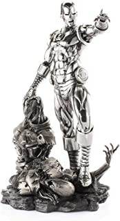 Royal Selangor Hand Finished Marvel Collection Pewter Limited Edition Iron Man & Ultron Replica Gift