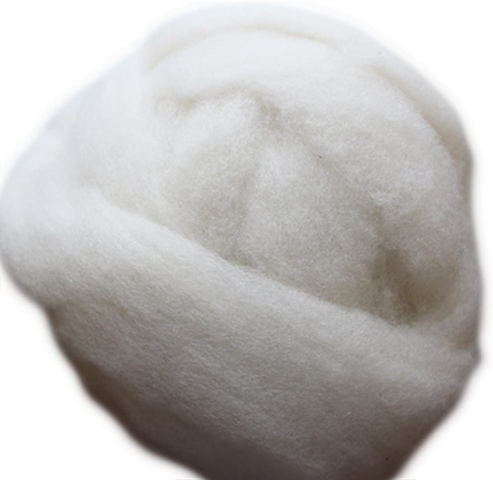 Happy Classy 1 lb Falkland Corriedale Roving Louisville-Jefferson County Selling rankings Mall M 27 Wool White Top