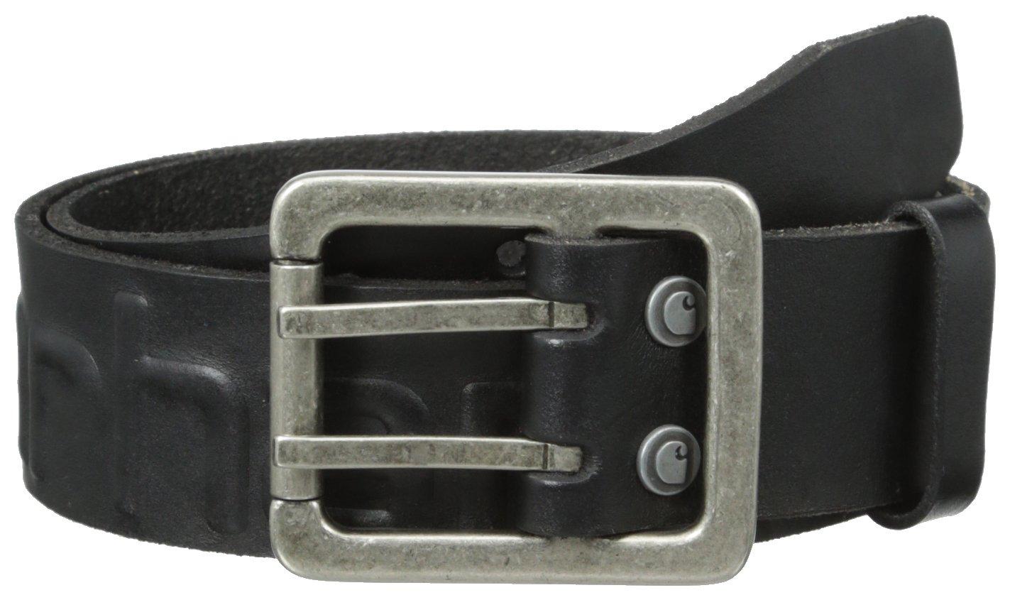 W34 Carhartt .2217.BRN.S534 Logo Belt Brown 34