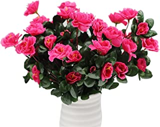 Lopkey 11 Outdoor Artificial Azalea Bush Rose Red