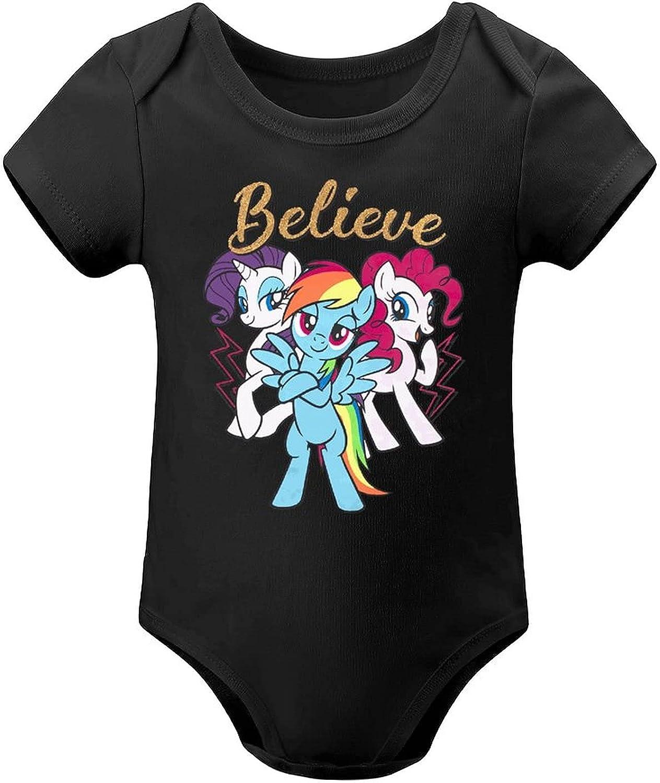 Friendship Is Magic Babys Boys Jersey Bargain Bodysuit One-Pi Max 75% OFF Soft Girls