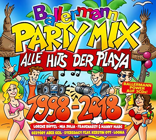 Ballermann Party Mix 1998-2018