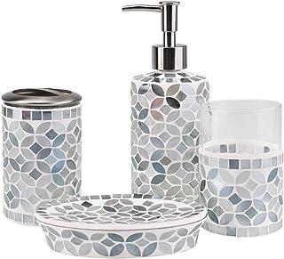 Amazon Com Green Bathroom Accessory Sets Bathroom