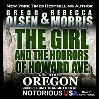 The Girl and the Horrors of Howard Avenue audiobook cover art