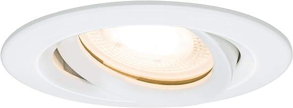 Paulmann 93661 Paulmann 93661 Nova Led Oprawa Wpuszczana Okrągła Obrotowa Max. Spot Sufitowy 35W Biały Bez Lampy, Ramka Mo...