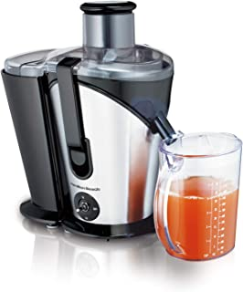 Hamilton Beach Big Mouth Juice Extractor, Large 8 cm Feed Chute, Easy to Clean, 2 Speeds, BPA Free, 220-240V 50-60 Hz UK P...