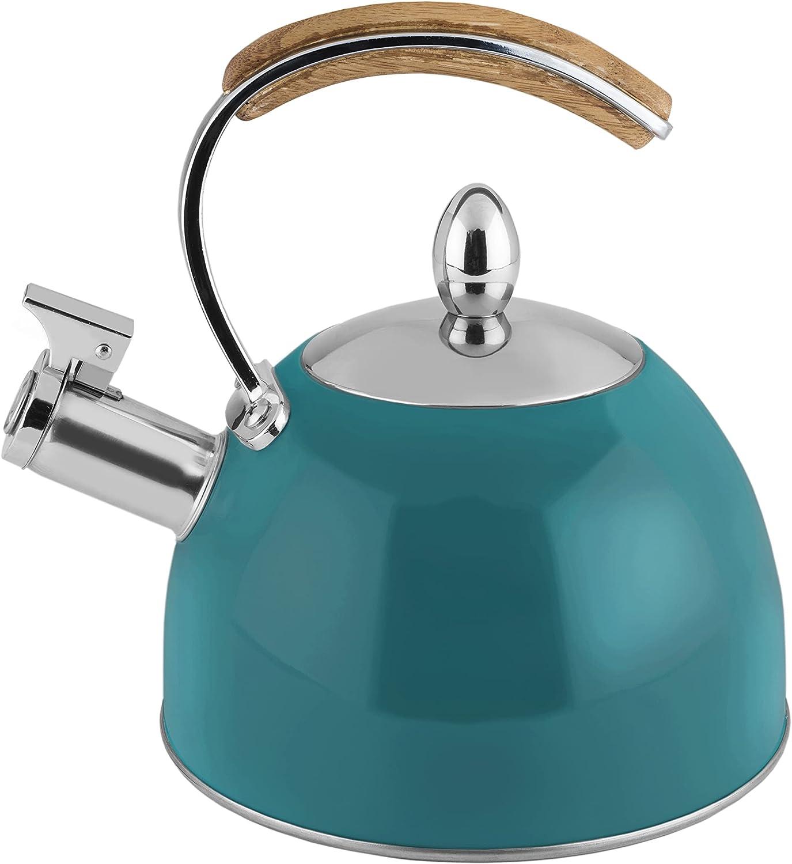 Pinky Up Presley Dark Green 70 Stovetop Kettle Oz Max 56% OFF Super sale Induction Tea
