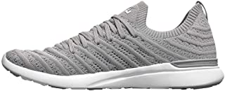 APL: Athletic Propulsion Labs Men's Techloom Wave Sneakers (13, Cement/White)