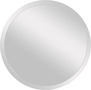 """Spancraft Glass 203-30 Round Beveled Mirror, 30"""""""