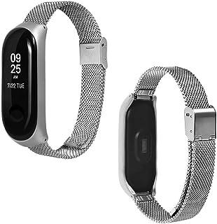 Metal Strap For Xiaomi Mi Band 3 Mi Smart Bracelet Screwless Wristbands Replace Wrist Strap