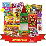 7. Las Posadas Mexican Candy Assortment – Mexican Candies – Spicy, Sweet, Sour Dulces Mexicanos Assortment Pack with Free Phone Grip – Authentic Mexican Snacks for Kids and Adults (La Guera 50)