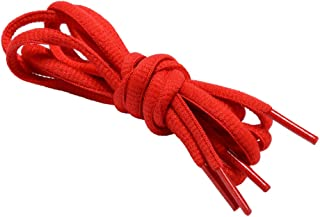 Oval Shoelaces Half Round 1/4