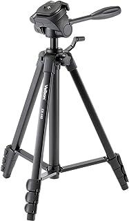 Velbon ファミリー三脚 EX-440 4段 レバーロック 全高153cm 脚径20mm 小型 3Way雲台 DIN規格クイックシュー対応 アルミ脚 301482