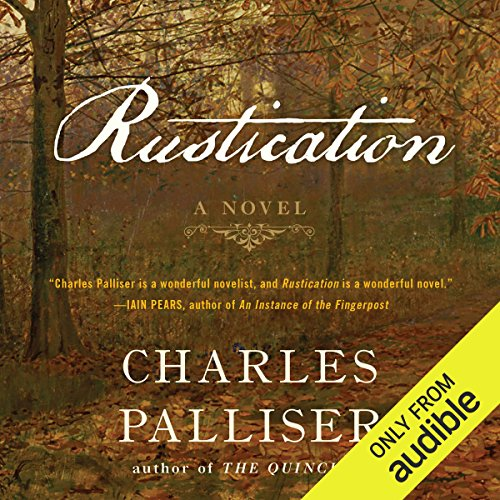 Rustication audiobook cover art