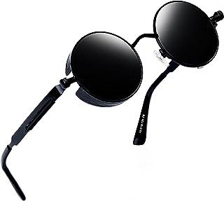 Joopin-Round Retro Polaroid Sunglasses Driving Polarized...