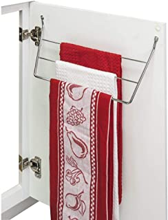 Hardware Resources DTH-PC-R Chrome Dish Towel Holder, Polished Chrome
