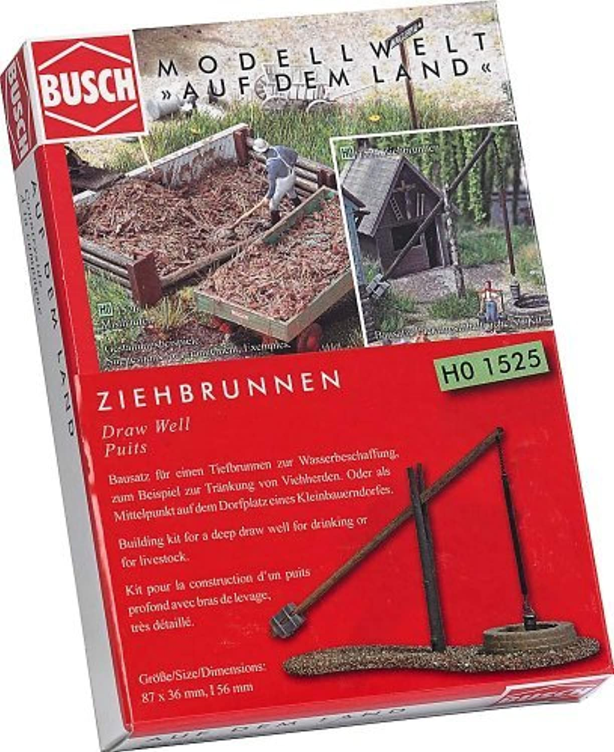HO Scale Draw Well by Busch