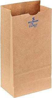 Duro 71005 Bulwark Grocery Bag, 5 Lbs