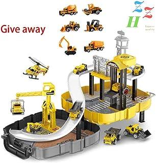 ZZH Mochila Plegable Toy Toy Cars Aleación Coche Toy Storey