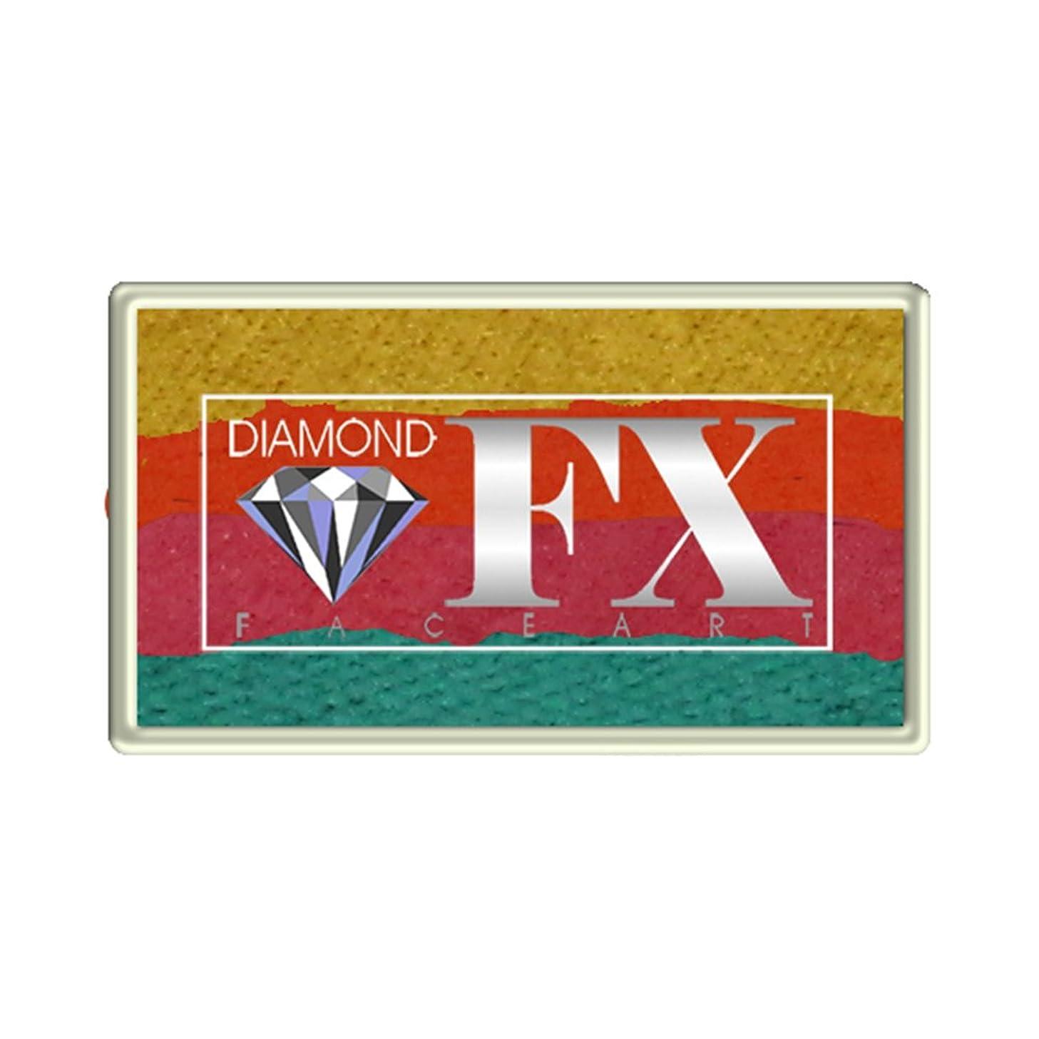 Diamond FX Custom Split Cake, 28 gm - Caribbean Sunset (RS30-47)