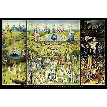 Close Up Póster Garden of Earthly Delights/El jardín de Las delicias Hieronymus Bosch (91,5cm x 61cm): Amazon.es: Hogar