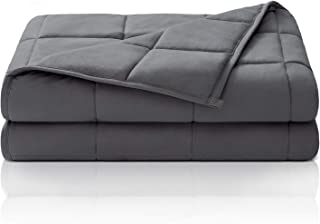 HBselect Gewichtsdecke Therapiedecke Weighted Blanket Oeko-TEX 100 Standard Beschwerte Decke Mikrofiber, Füllmaterial Premium Glaskügelchen, Schlaftiefe zu verbessern