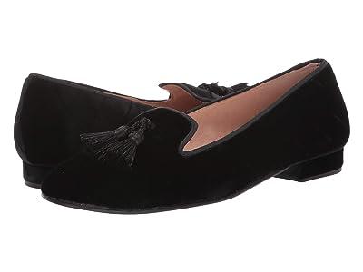 French Sole Nicky Hilton Eloise (Black Harlequin Velvet) Women