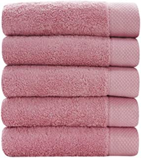 Songwol Bath Towels Cotton Towels for Hotel and spa Maximum Softness and Absorbency Set of 5