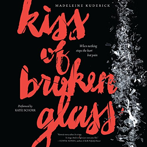 Kiss of Broken Glass audiobook cover art