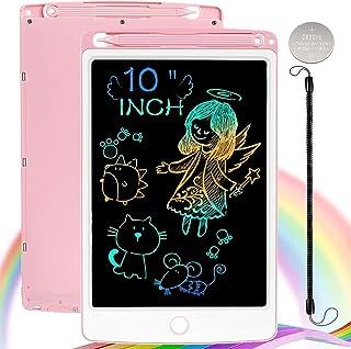 Nobes Ardoise Magique 10 Pouces Coloré, LCD Tablette D'écriture Tableau de Dessin Effaçable, Cadeau Jouet Educatif pour Ba...