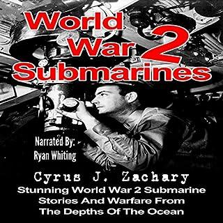 World War 2 Submarines audiobook cover art