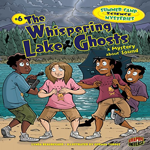 The Whispering Lake Ghosts audiobook cover art