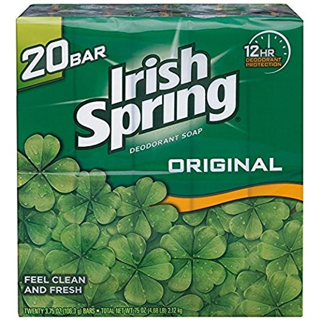 診断する本を読む感謝しているIrish Spring アイリッシュスプリング オリジナル 固形石鹸 20個 海外直送