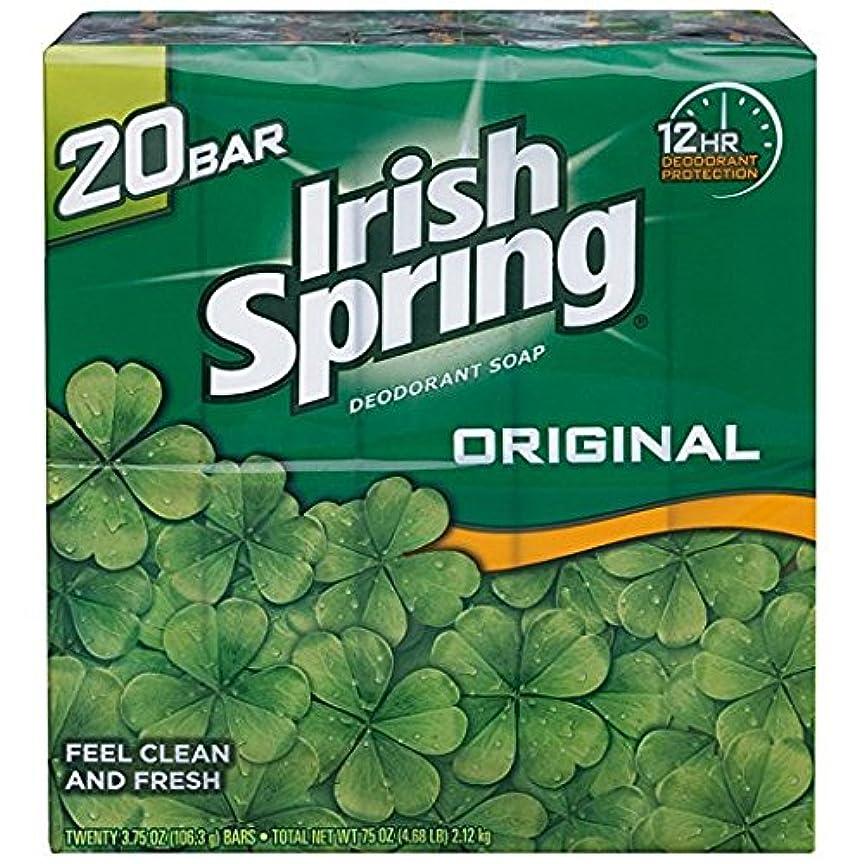 収まるやけどつかいますIrish Spring アイリッシュスプリング オリジナル 固形石鹸 20個 海外直送