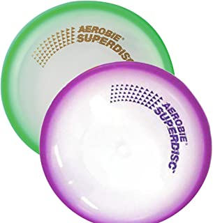 "Aerobie Flying Superdisc 10"" Set of 2, Assorted Colors"