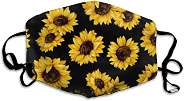 NOT Sunflowers Outdoor Multifunctional Comfortable Adjustable Face Mask Decorations for Adult