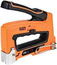 Klein Tools 450-100 Heavy Duty Stapler for Voice, Data, Video and Nonmetallic Sheathed (Romex) Cable Fits 1/4-, 5/16-, and...