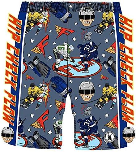 Flow Society Hip Check Hockey Boys Athletic Shorts