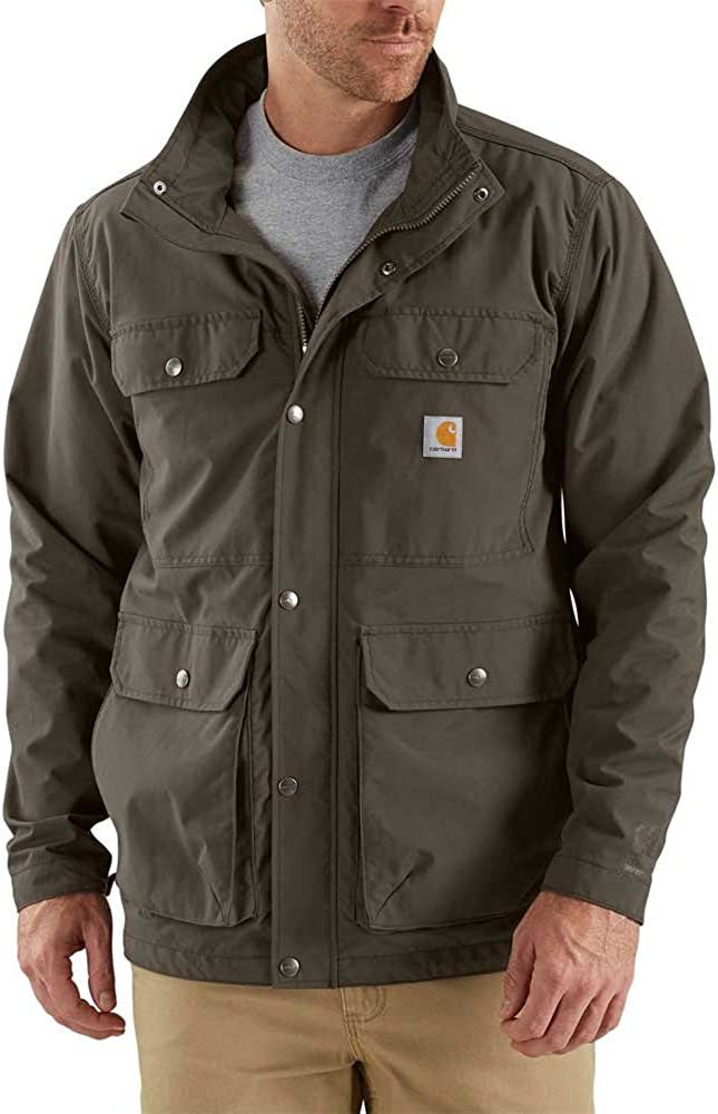 Carhartt Men's Utility Coat: Clothing, Shoes & Jewelry