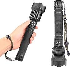 Lanterna Faxiang, Lanterna Portátil USB Recarregável com Zoom Telescópico 120000LM, 2M à Prova d'água IPX-4 Adequado Para ...
