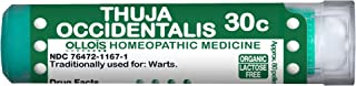 Ollois Lactose Free Homeopathic Medicines, Thuja Occidentalis 30C Pellets, 80 Count