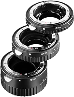 21 mm Meike Extension Ring Set 13 mm 31 mm for Mactrophotography Suitable for Canon