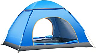Jinfusi Anti-uv Waterproof Instant Tent 3-4 Person Camping Tent, Lightweight Outdoor Backpacking Tent Shelter