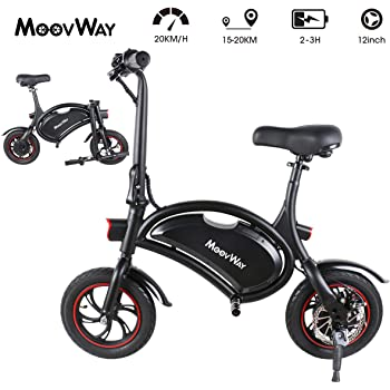 Windgoo Bicicleta Electrica 36V Plegable - E-Bike 12