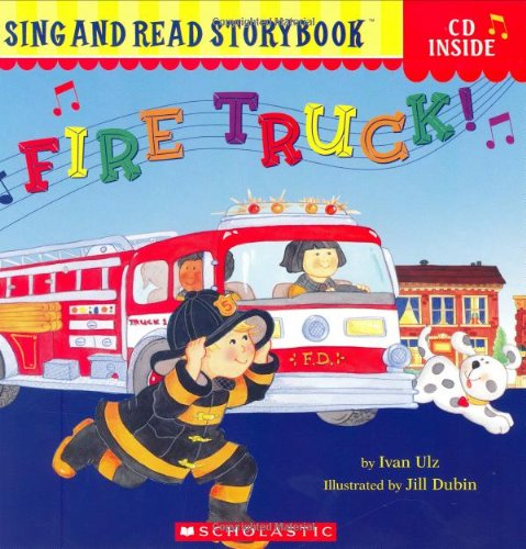 Fire Truck! (Sing and Read Storybook (Book & CD))の詳細を見る