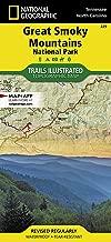 smokies hiking trail map